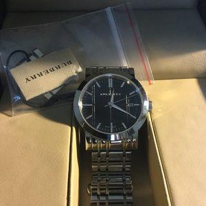 Burberry Men's Hertiage Black Dial Watch